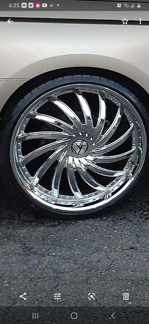 "26"" Azara 508 Wheels and Delante tires for Sale in North Chesterfield, VA"