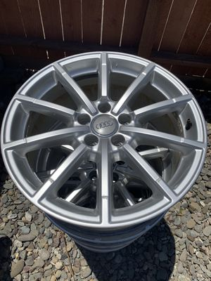 "Audi 10"" Spoke Wheels Rim 2015 A4 $600 OBO for Sale in Costa Mesa, CA"