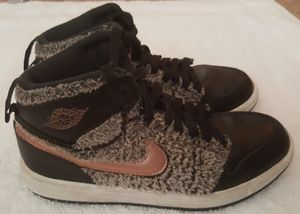 Nike Air Jordan 1 retro bronze / gold for Sale in College Park, GA