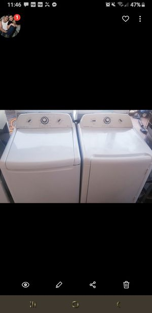 Whirlpool $385 washer dryer Matching for Sale in Palm Valley, TX