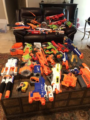 Nerf guns, excellent condition for Sale in Brownsville, TX