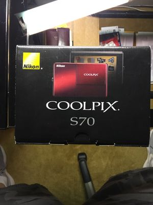 Nikon Coolpix S70 12Mp 3.5 Inch Touchscreen Digital Camera In Red for Sale in Silver Spring, MD