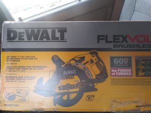 Dewalt flexvolt circular saw for Sale in Joint Base Lewis-McChord, WA