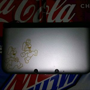 Mario and Luigi 3Ds XL special edition for Sale in Bushnell, FL