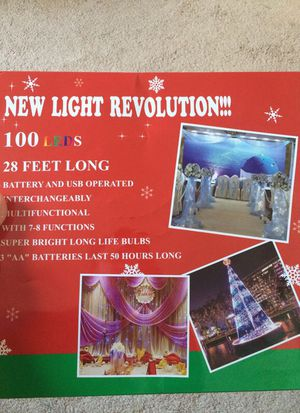 100 LEDs lights for Sale in Manassas, VA