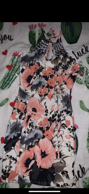 Papaya flower dress for Sale in Dallas, TX