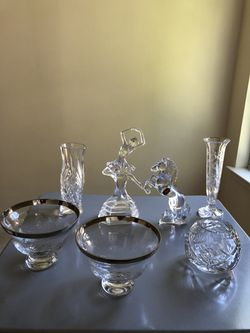 7 piece crystal / glassware for Sale in NO POTOMAC,  MD