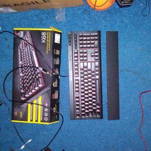 Corsair Wired K68 Mechanical Gaming Keyboard for Sale in Virginia Beach, VA