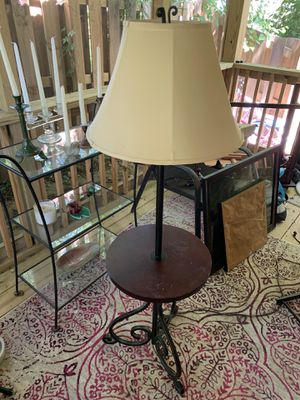 End table floor lamp for Sale in Nashville, TN