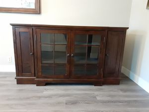 Brown credenza for Sale in Citrus Heights, CA