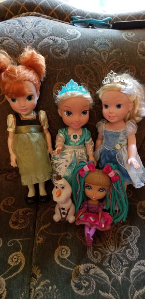 Frozen dolls for Sale in Los Angeles, CA