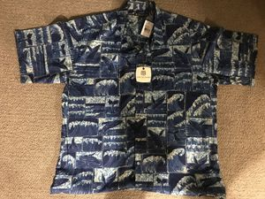 Tori Richards Aloha Shirt Size Large ( New for Sale in Ewa Beach, HI