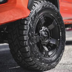"""17"""" Toyota Tacoma Rims & Tires Deal - Package Includes Leveling Kit - Complete Package Starts @ $1599 for Sale in La Habra, CA"""