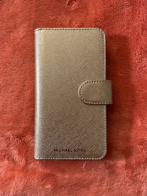 Michael Kors 🎀 iPhone X wallet case for Sale in Brockton, MA