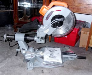 Chicago Electric Compound Slide Miter Saw for Sale in Federal Way, WA