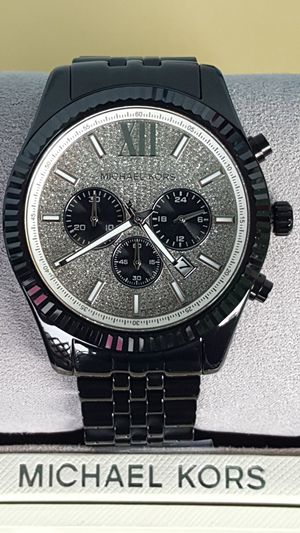 New Authentic Michael Kors Men's BOLDFACE Bling Watch for Sale in Montebello, CA