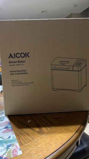 AICOK bread maker. Model MBF-013 for Sale in Surprise, AZ