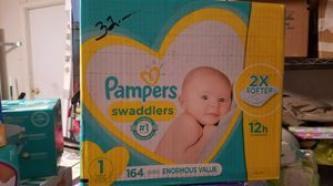 Pampers swaddlers for Sale in North Las Vegas, NV