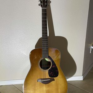 Yamaha FG 800 Acoustic Guitar w/Soft Carrying Case for Sale in Mount Vernon, WA