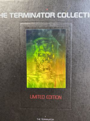The terminator collection limited edition vhs set for Sale in Bellflower, CA