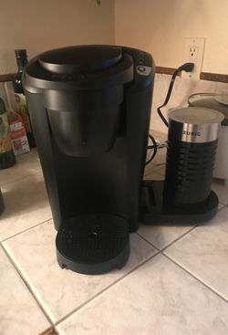 Keurig coffee and espresso maker with foam maker for Sale in Poulsbo,  WA