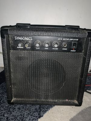 Guitar and amp for sale for Sale in Brooklyn, OH