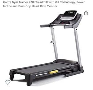 Gold's Gym 430i Treadmill New for Sale in Elgin, SC