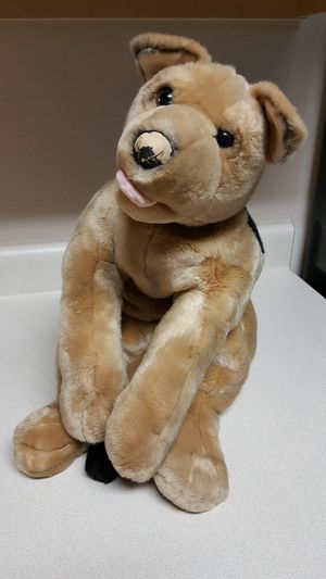 Adorable Vintage Toys R Us big German Shepard Puppy Plush Stuffed Animal 30 inches long❤ for Sale in Leander, TX