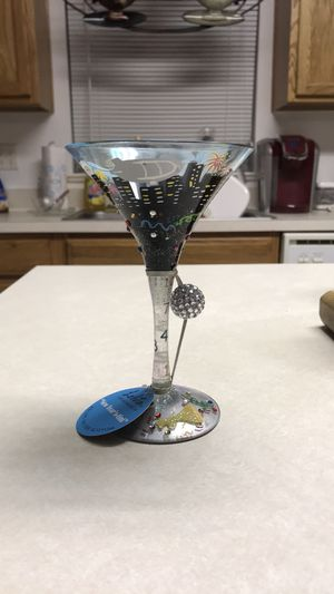 Love My Martini 🍸 Glass (New Years-Tini) for Sale in Cocoa, FL