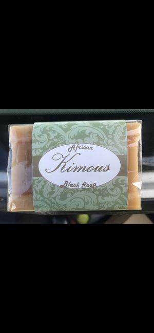Kimous African black soap for Sale in Ashburn, VA