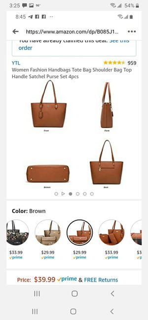 4 piece tote bag set for Sale in Modesto, CA