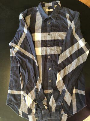 Burberry Brit men's nova check flannel shirt for Sale in Portland, OR