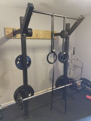 Wall Mounted Squat Rack / Power Rack - Space Saving for Sale in Dallas, TX