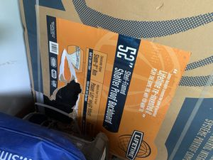 Brand new Shatterproof basketball backboard and hoop for Sale in Hinsdale, IL