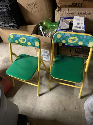 Crayola Kid chairs for Sale in Dallas, TX