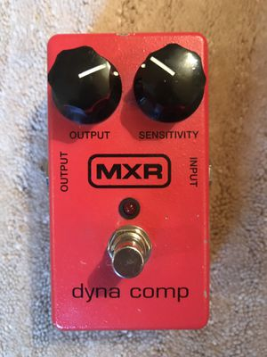 MXR dyna comp compressor guitar/bass pedal for Sale in Nashville, TN