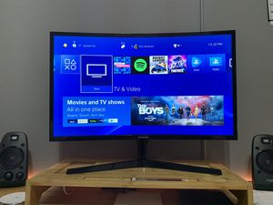 Like New 27 inch Curved Gaming Monitor by Samsung (Ultra Thin) for Sale in Riverview, FL