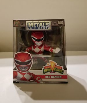 Power Rangers Red Ranger die Cast for Sale in Greensboro, NC