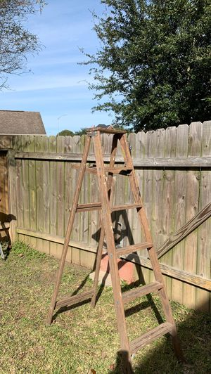 Wood ladder for Sale in Baytown, TX