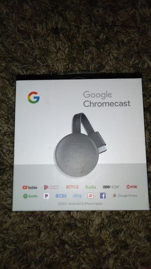 Google chromecast streaming device for Sale in Spring, TX