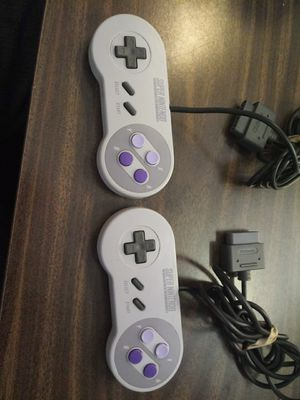 Original Super Nintendo controllers asking 30 for both if interested let me know or looking for trades for xbox 1 for Sale in Denver, CO