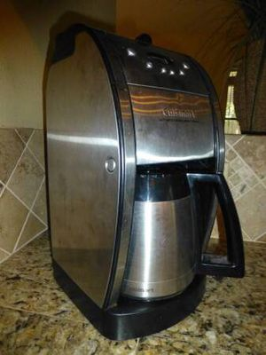 Cuisinart Grind & Brew 12-Cup Coffee Maker and Grinder Thermal Carafe for Sale in Austin, TX