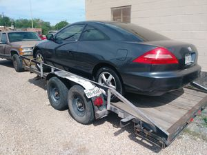 18 foot car hauler w/ramps for Sale in Fort Worth, TX