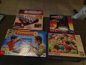 Kids/family board games and ice cream puzzle for Sale in Miami, FL