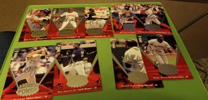 Large sized baseball cards for Sale in Westampton, NJ