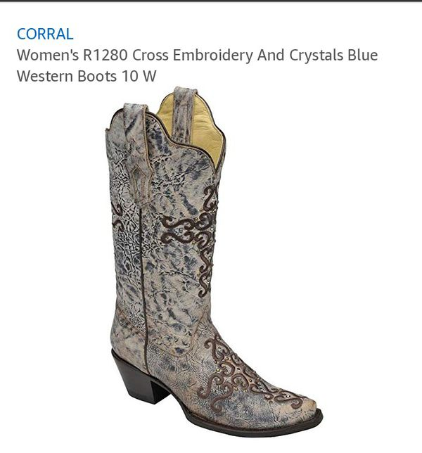 Women's Corral Boots Size 7 ½