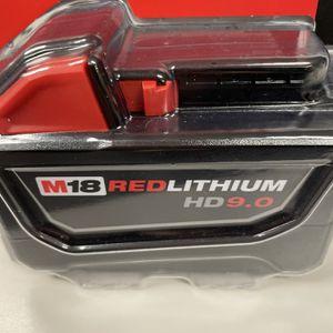 Milwaukee 9.0 Ah Battery for Sale in Arlington, MA