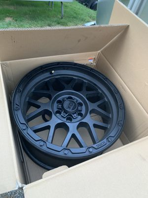 """18"""" XD Grenade Off-road Rims - Black - Set of 4 like new for Sale in Seattle, WA"""