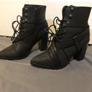 Black Ankle Lace up Boots for Sale in Frederick, MD