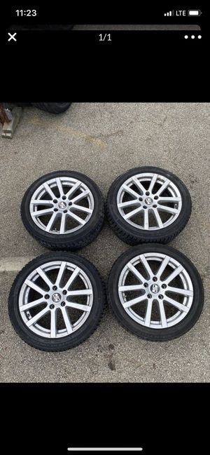 4 17in wheels with new tires 5x112 for Sale in Springfield, VA
